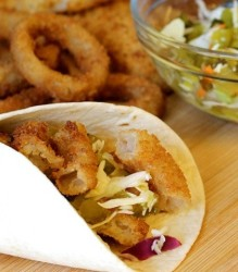 Oven Baked Double Crunch Fish Tacos Recipe   In The Kitchen With KP   Easy Dinner Ideas