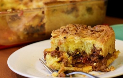 Sloppy Joe Cornbread Casserole recipe | In The Kitchen With KP