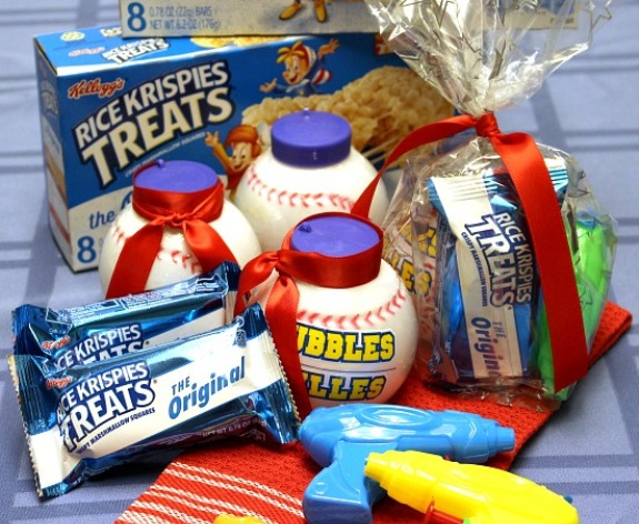 Baseball Treat Bag Ideas for Pinterest