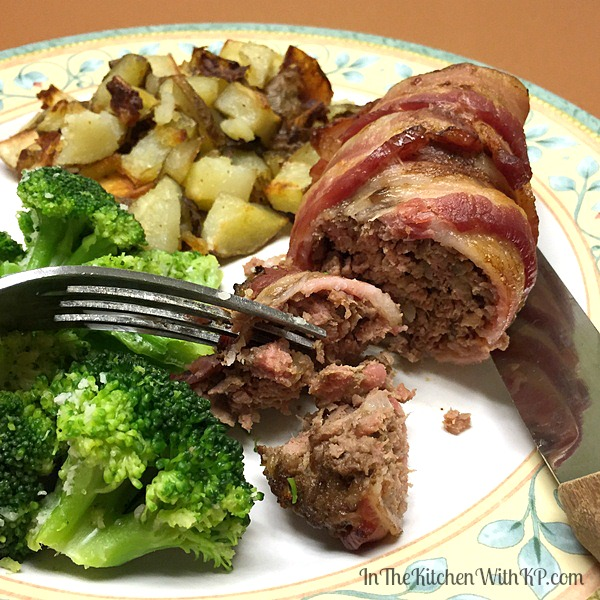 Bacon Wrapped Mini Meat Loaf Recipe | In The Kitchen With KP | Easy Dinner Recipe