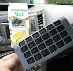 Freshen Your Daily Commute with PERK Automotive Air Freshener www.InTheKitchenWithKP Travel Tips slider
