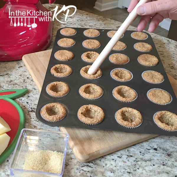 Apple and Salted Caramel Cookie Cups | In The Kitchen With KP | Apple Cookie Dessert Recipe