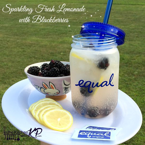 Blackberry Sparkling Lemonade Recipe | In The Kitchen With KP | Homemade Lemonade Recipe
