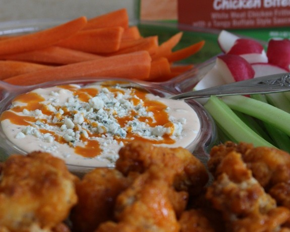 Homemade Buffalo Blue Cheese Dip Recipe |In The Kitchen With KP| Appetizer Snack Ideas