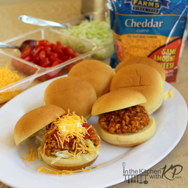 Slow Cooker Turkey Taco Sloppy Joes | In The Kitchen With KP | Family Friendly Recipes