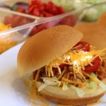 Slow Cooker Turkey Taco Sloppy Joes