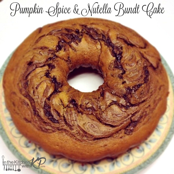 Pumpkin-Nutella-Bundt-In The Kitchen With KP Pumpkin Spice Recipes