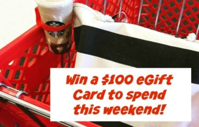 Target E-Gift Card Giveaway   In The Kitchen With KP   Blogger Giveaway