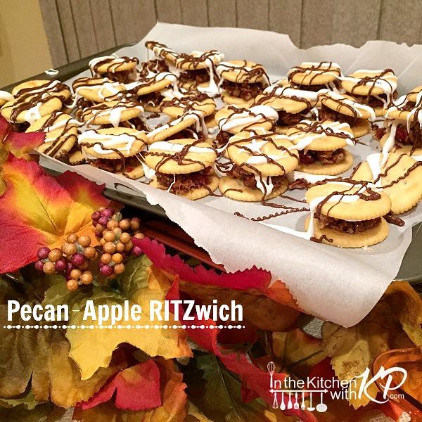 Apple Pecan RITZwich www.InTheKitchenWithKP Holiday Appetizer Snack Recipe 11