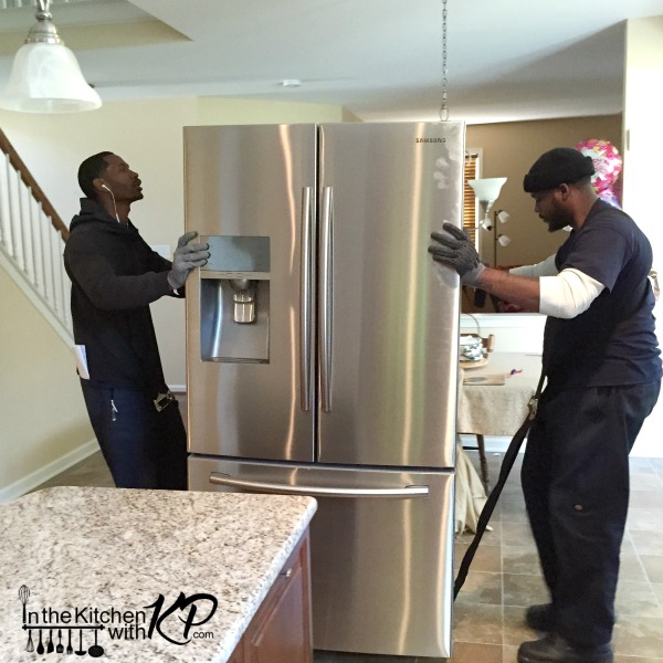 Holiday Prep Made Easy With the Samsung 4 Door Flex | In The Kitchen With KP | Kitchen Makeover Ideas