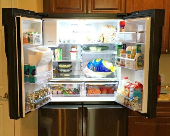 Holiday Prep Made Easy With the Samsung 4 Door Flex   In The Kitchen With KP   Kitchen Makeover Ideas
