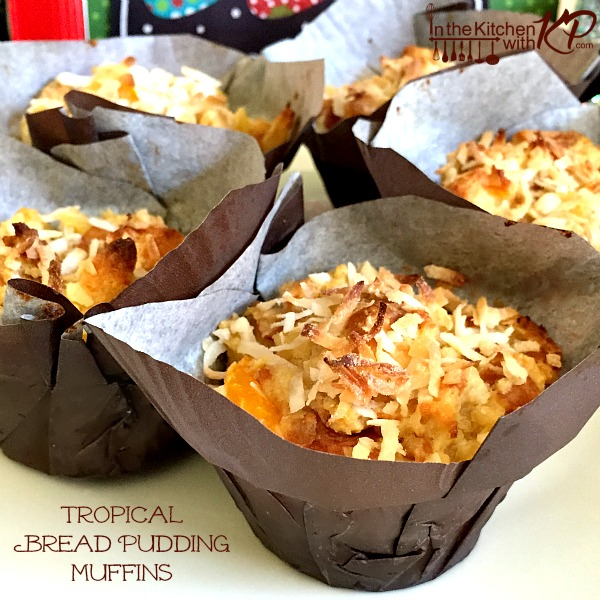 Tropical Bread Pudding Muffins | In The Kitchen With KP | Easy Brunch Recipes