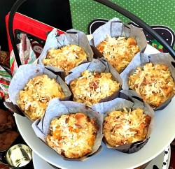 Tropical Bread Pudding Muffins   In The Kitchen With KP   Easy Brunch Recipes