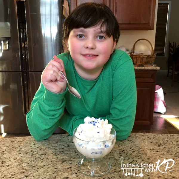 Two Ingredient Homemade Snow Cream Recipe | In The Kitchen With KP |Family Fun Snow Day Ideas