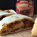 Sloppy Joe Stromboli #ManwichMonday