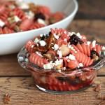 Raspberry Pecan Pasta Salad