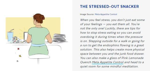 Meta Appetite Control Snacker Quiz