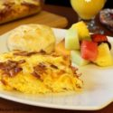 Bacon, Egg and Cheese Hash Brown Casserole