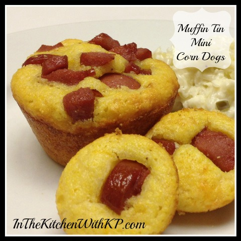 Muffin Tin Mini Corn Dogs