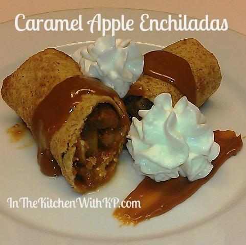 Caramel Apple Enchiladas