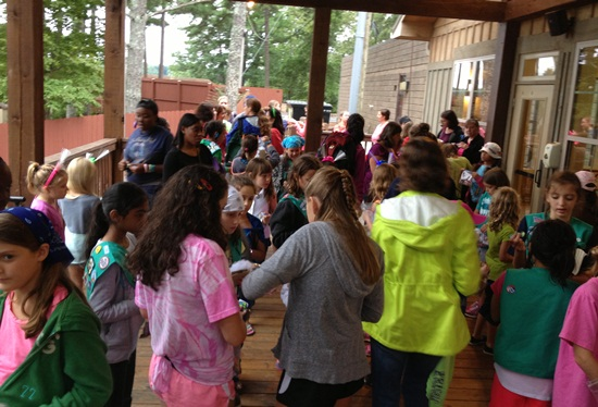 Girl Scout Camporee Weekend 4