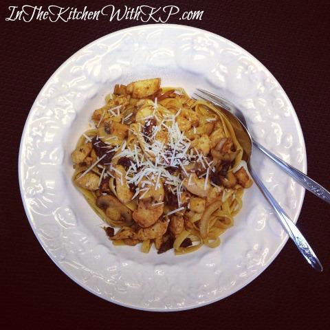 Garlic and Herb Chicken Fettuccine 1
