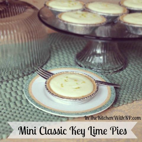 Mini Classic Key Lime Pies 2