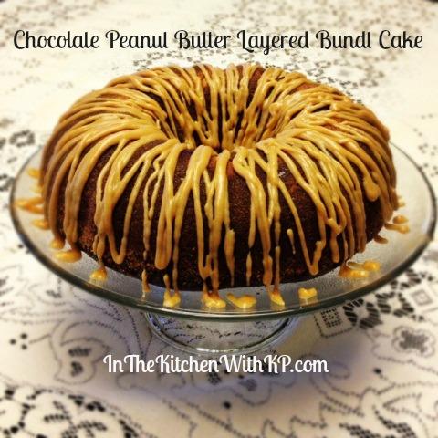 Chocolate Peanut Butter Bundt 4