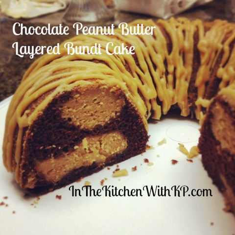Chocolate Peanut Butter Layered Bundt Cake #BundAMonth ...