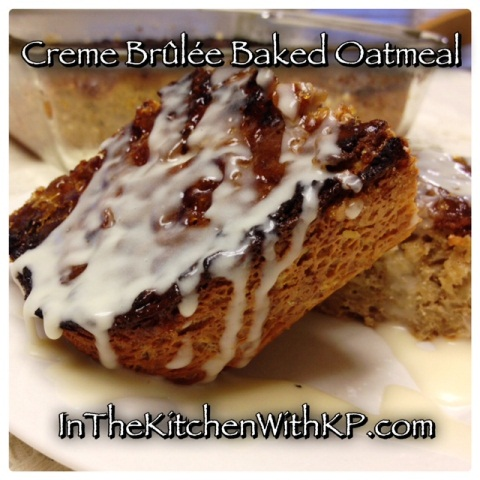 Baked Creme Brulee Oatmeal 2
