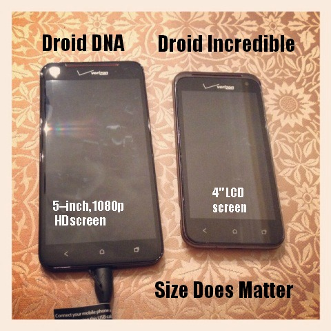 Droid DNA vs Droid Incredible