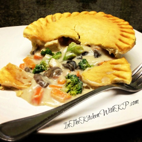 Marie Callenders Creamy Mushroom Pot Pie 2