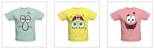 Spongebob Squarepants Shirts Nick Jr