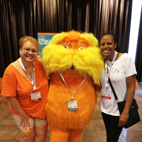 The Lorax at BlogHer NYC 12