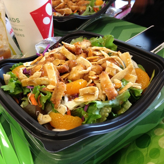 Chick Fil A Grilled Asian Salad Fresh Made