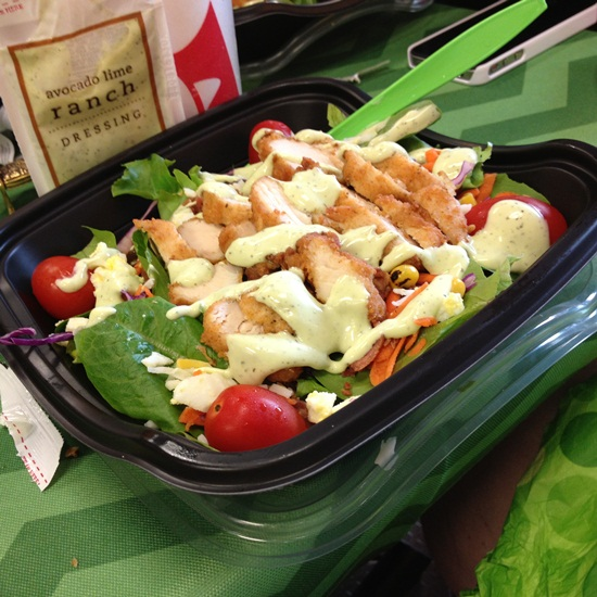 Chick Fil A Grilled Cobb Salad Fresh Made