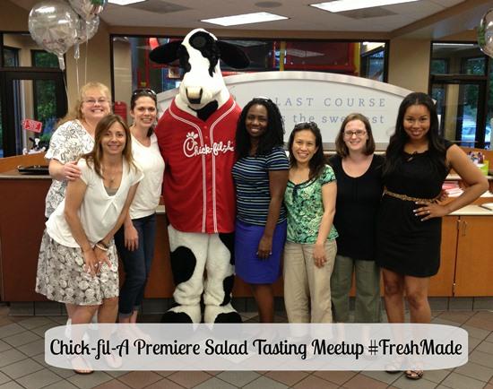 Chick-fil-A Premiere Salad Tasting Meetup #FreshMade