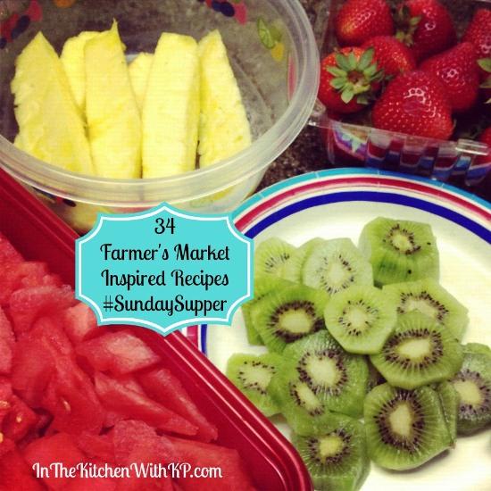 34 Farmers Market Inspired Recipes