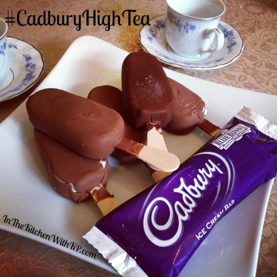 Cadbury Ice Cream Bars for High Tea