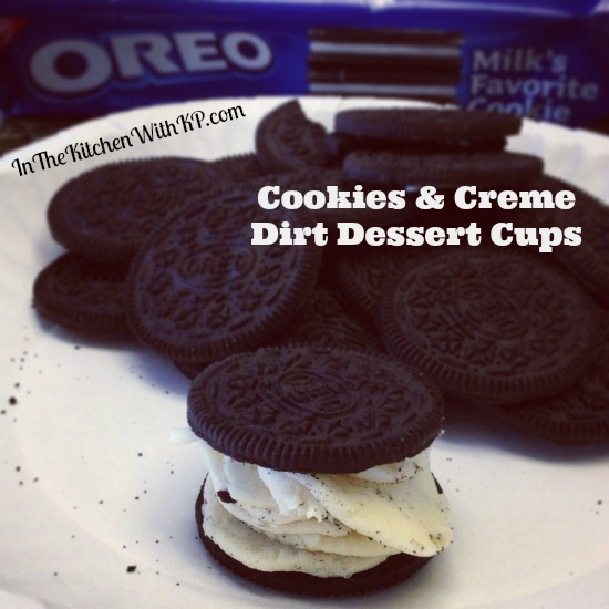 Cookies and Creme Dirt Dessert Cups 2