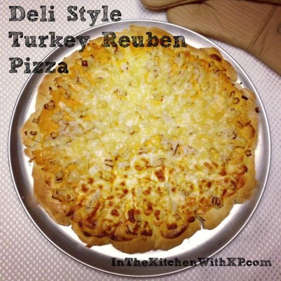 Deli Style Turkey Reuben Pizza 4