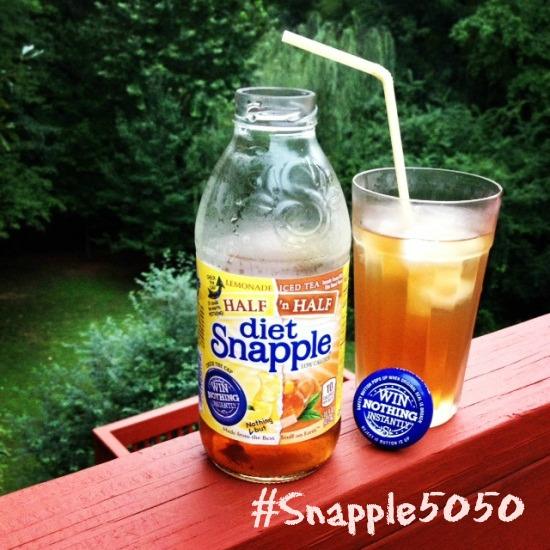 Snapple Half n Half On the Go #Snapple5050