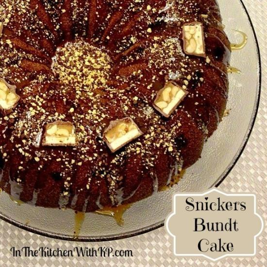 Snickers Bundt Cake 1
