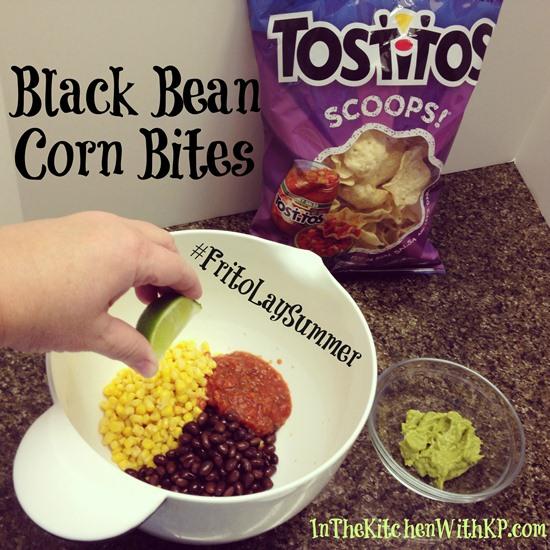 Black Bean Corn Bites Frito-Lay Recipe