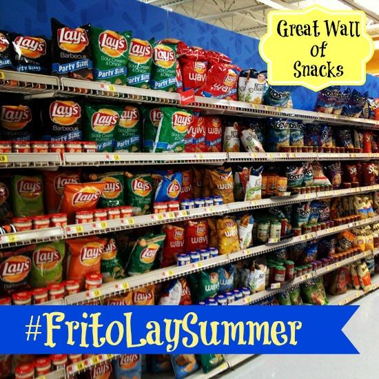 Great Wall of Snacks FritoLay Summer