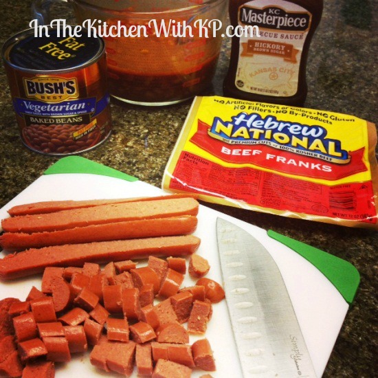 Puff Pastry Franks and Beans With Hebrew National 2