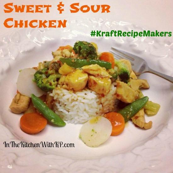 Sweet and Sour Chicken #KraftRecipeMakers #shop 1