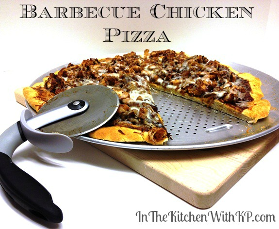 Barbecue Chicken Pizza 3