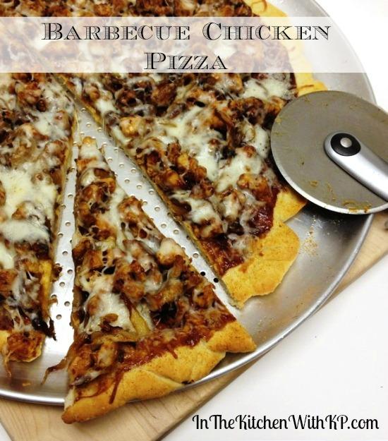 Barbecue Chicken Pizza 7