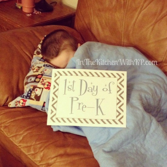 First Day of School Printable 1